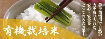 善玉菌活用で自然の力を取り入れた、安心・安全なとっておきのお米!有機栽培米